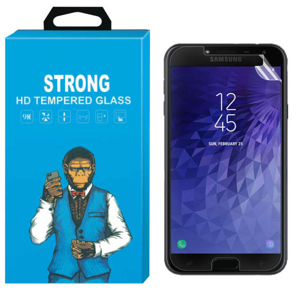 محافظ صفحه نمایش نانو فلکسبل مدل Strong Fullcover مناسب برای گوشی سامسونگ Galaxy J4