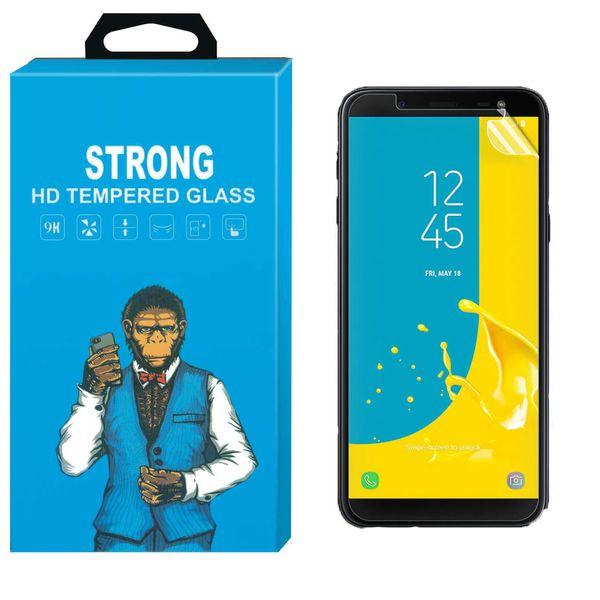 محافظ صفحه نمایش نانو فلکسبل مدل Strong Fullcover مناسب برای گوشی سامسونگ Galaxy J6