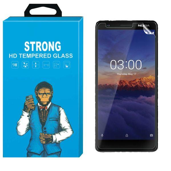 محافظ صفحه نمایش نانو فلکسبل مدل Strong Fullcover مناسب برای گوشی Nokia 3.1