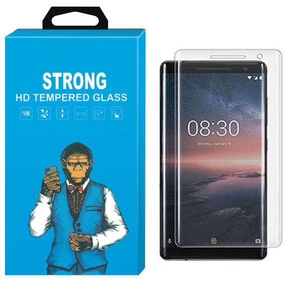 محافظ صفحه نمایش تی پی یو مدل Strong Fullcover مناسب برای گوشی Nokia 8 Sirocco