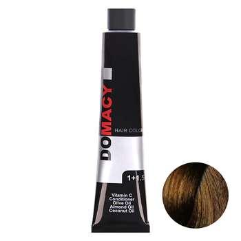رنگ مو دوماسی سری عسلی شماره 7.34 حجم 120 میلی لیتر رنگ  بلوند عسلی متوسط