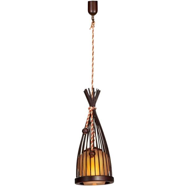 چراغ آویز دارکار مدل الینا تک شعله کد 80