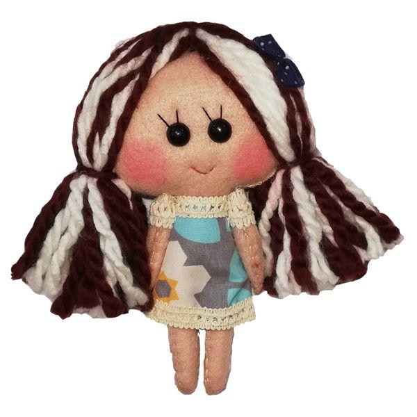 عروسک تزئینی طرح دختر بهار کد MRK1 ارتفاع 18 سانتی متر
