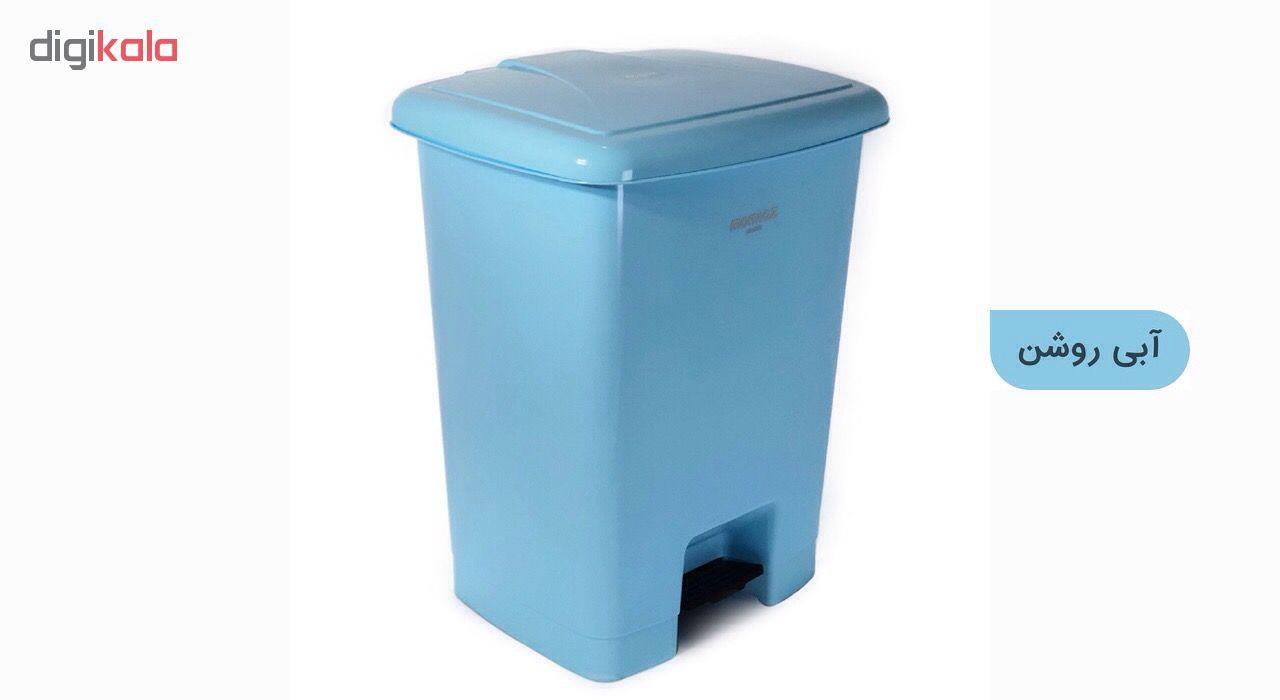 سطل زباله ممتاز پلاستیک مدل 730 ظرفیت ۲۵ لیتری main 1 13