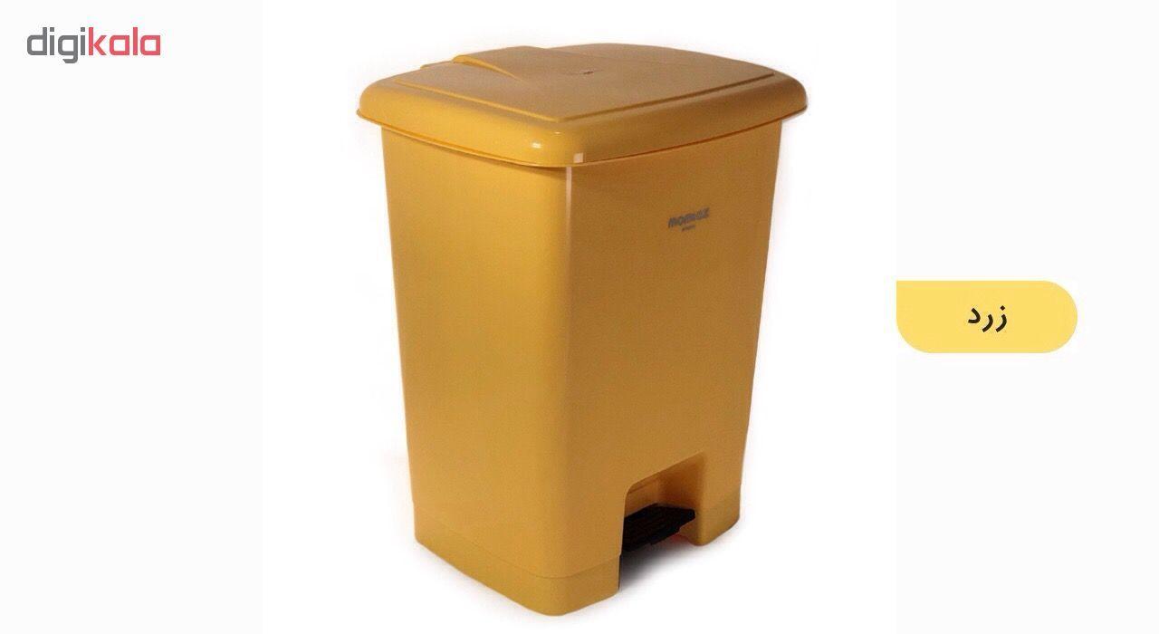 سطل زباله ممتاز پلاستیک مدل 730 ظرفیت ۲۵ لیتری main 1 19