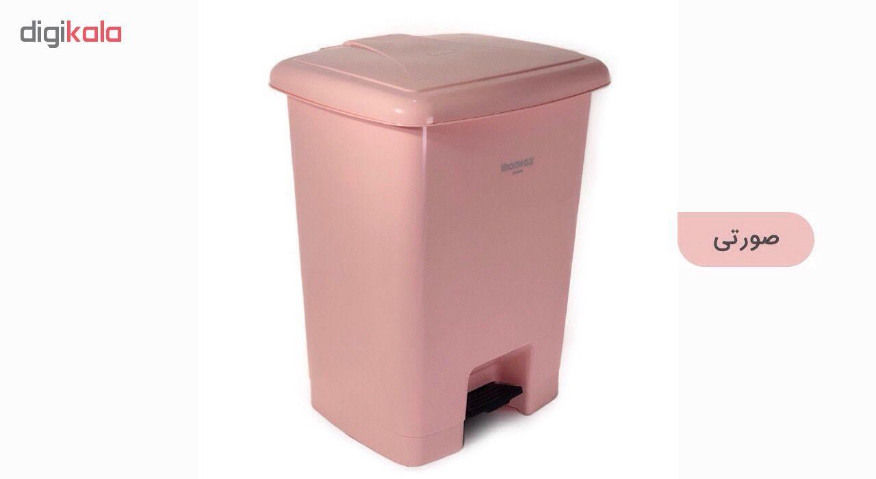سطل زباله ممتاز پلاستیک مدل 730 ظرفیت ۲۵ لیتری main 1 20