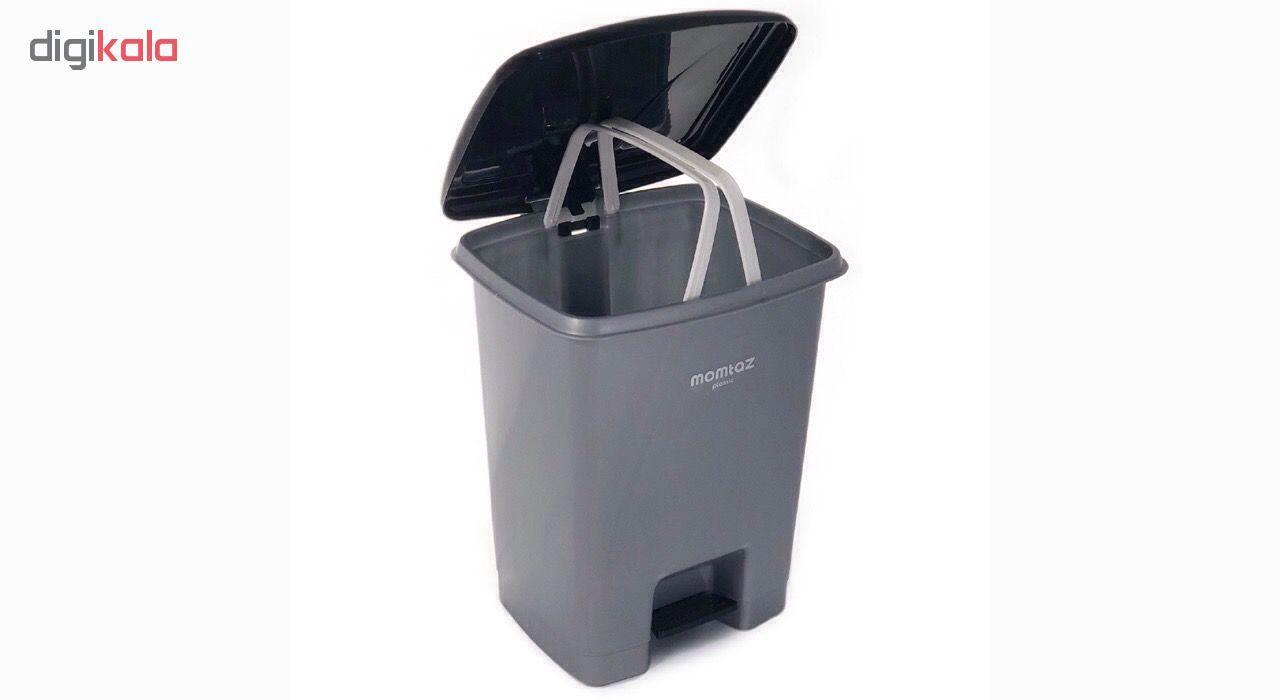 سطل زباله ممتاز پلاستیک مدل 730 ظرفیت ۲۵ لیتری main 1 5
