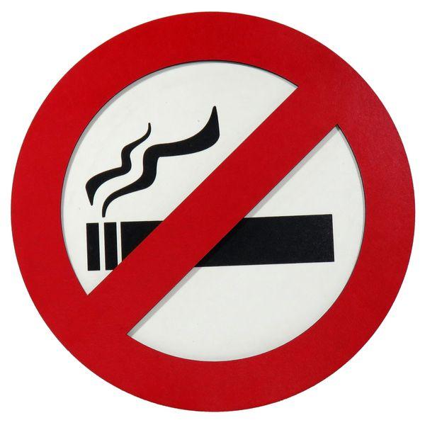 تابلو نشانگر طرح سیگار کشیدن ممنوع  کد 001