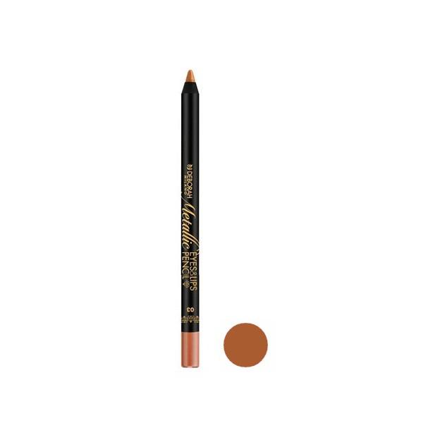 مداد چشم دبورا سری metallic شماره 03