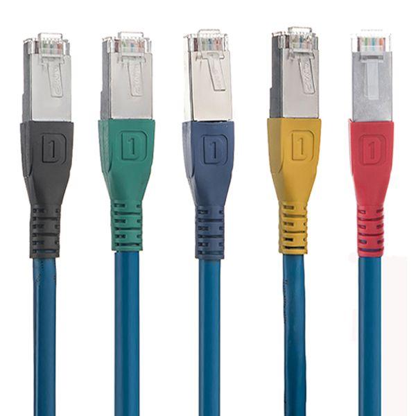 کابل شبکه cat 6 لگرند مدل IT1_C6  طول 1.5 متر بسته 5 عددی