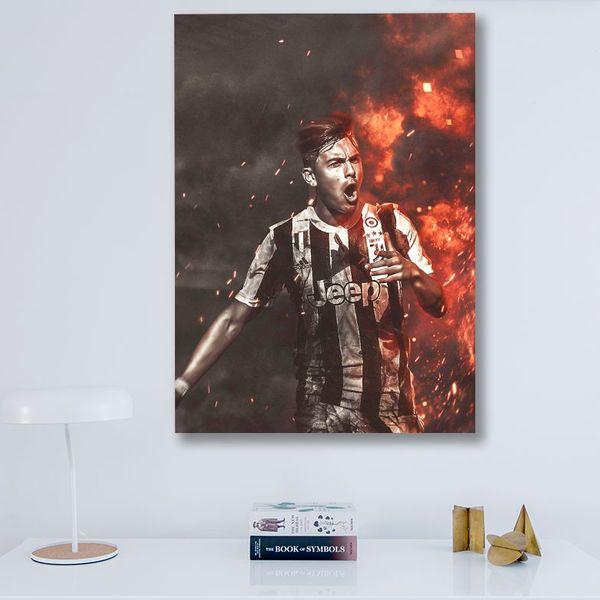 تابلو شاسی گالری استاربوی طرح دیبالا مدل Juventus 04