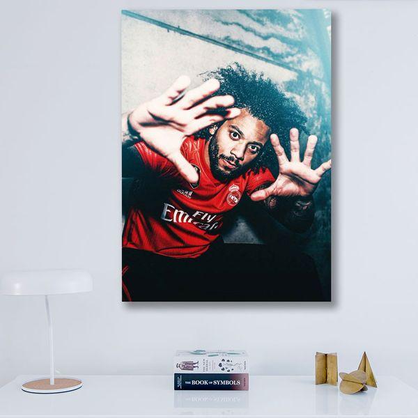 تابلو شاسی گالری استاربوی طرح مارسلو مدل Real Madrid