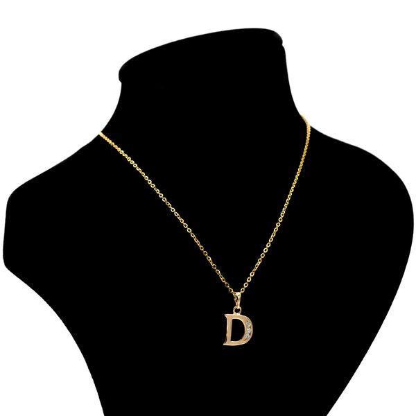 گردنبند بهارگالری مدل حرف D