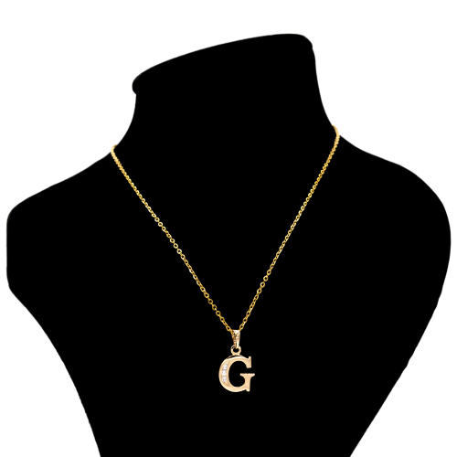 گردنبند بهارگالری مدل حرف G