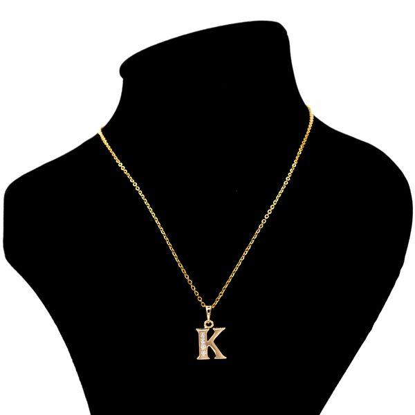 گردنبند بهارگالری مدل حرف K