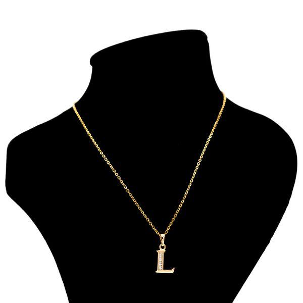 گردنبند بهارگالری مدل حرف L