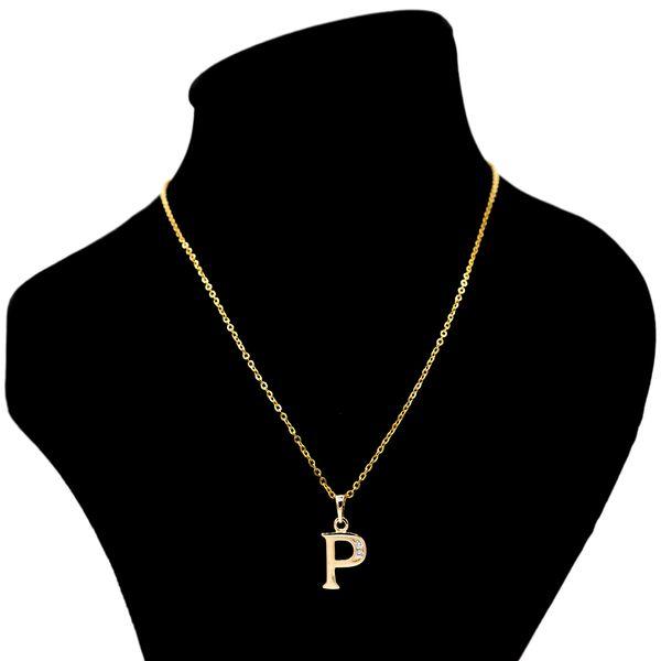 گردنبند بهارگالری مدل حرف P