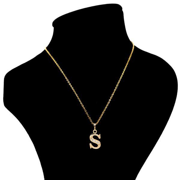 گردنبند بهارگالری مدل حرف S