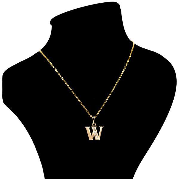 گردنبند بهارگالری مدل حرف W