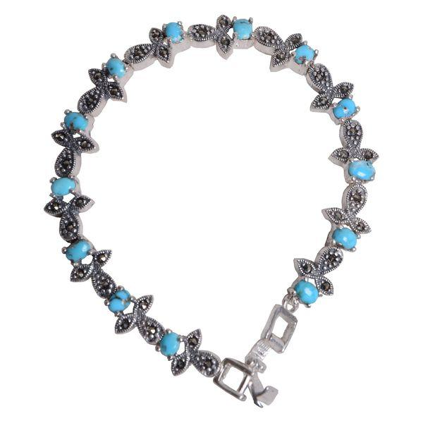 دستبند نقره زنانه کد DZ105