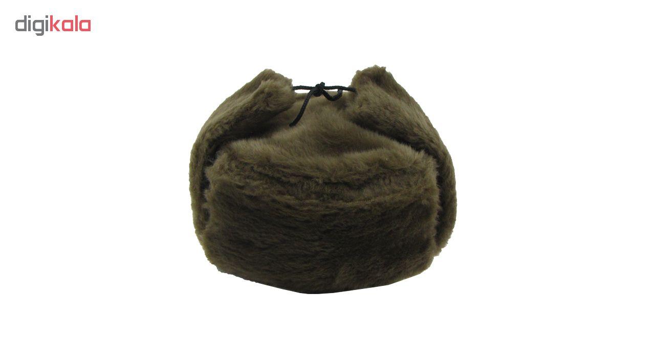 خرید                                      کلاه روسی طرح پوست کد 1103