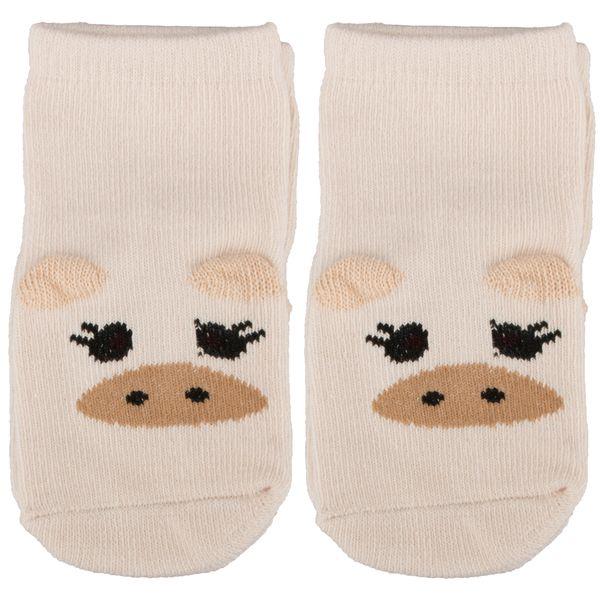 جوراب بچگانه پونی کید طرح گاو
