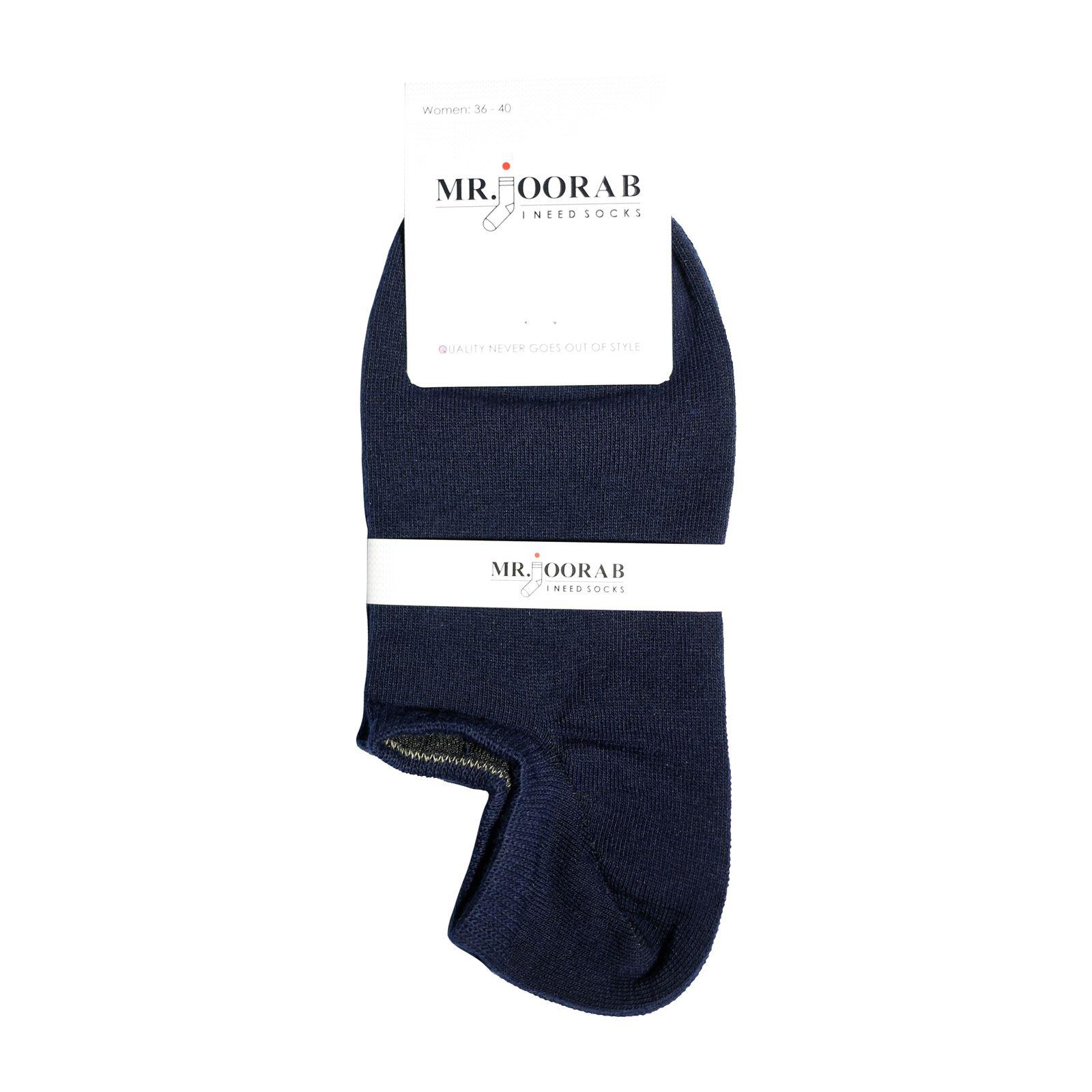 جوراب زنانه مستر جوراب کد BL-MRM 214 بسته 6 عددی -  - 3