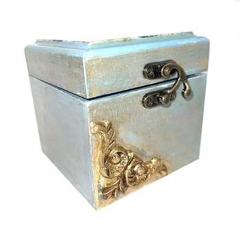 جعبه هدیه دستساز هنرکده موازی مدل بزم