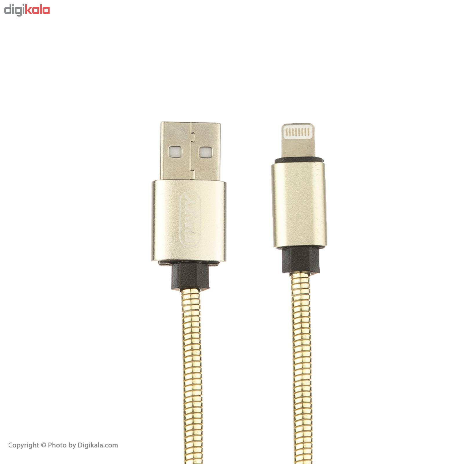 کابل تبدبل USB به لایتنینگ پینزی مدل L6 طول 1 متر