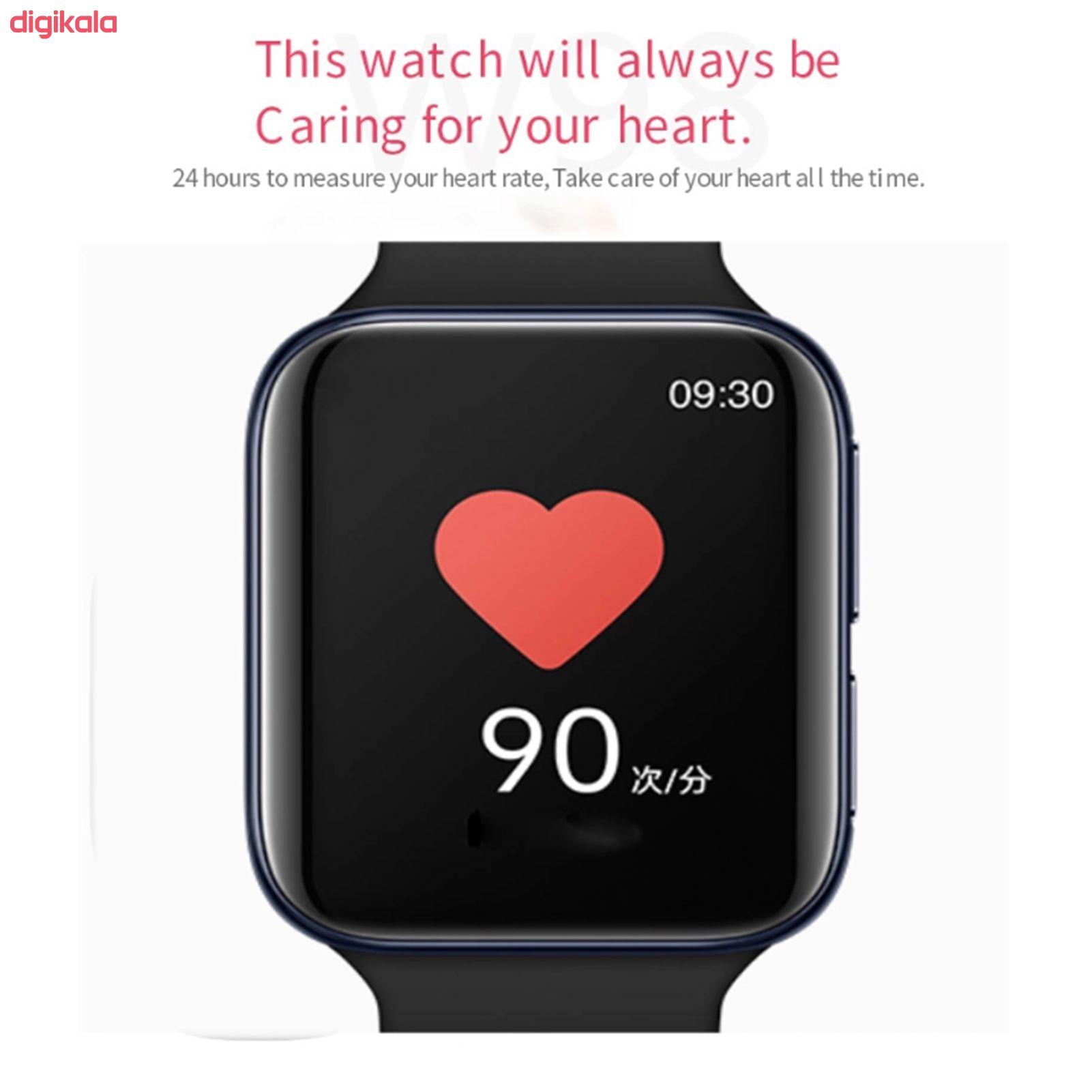 ساعت هوشمند مدل W98 main 1 8