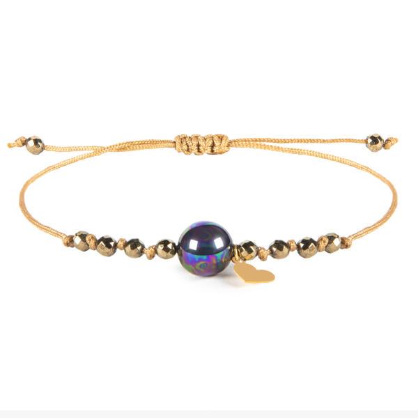 دستبند طلا 18 عیار زنانه ریسه گالری کد P1269