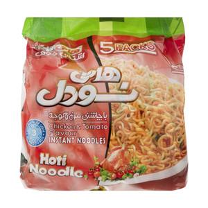 نودل هاتی کارا با طعم مرغ و گوجه - 77 گرم مجموعه 5 عددی