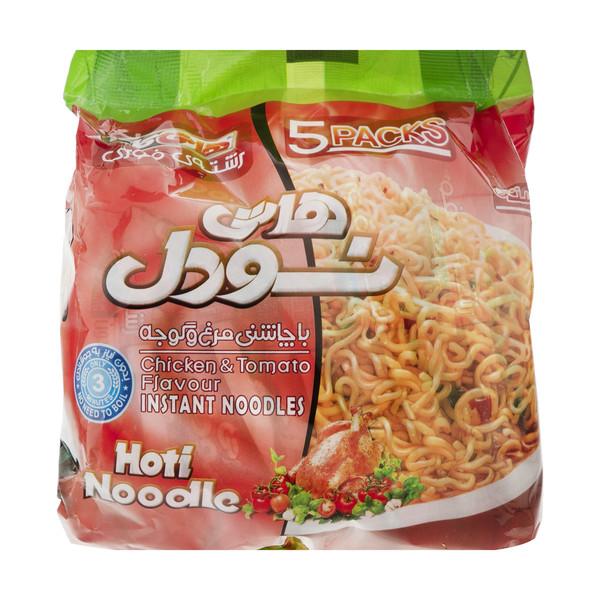نودل هاتی کارا با طعم مرغ و گوجه - 100 گرم مجموعه 5 عددی