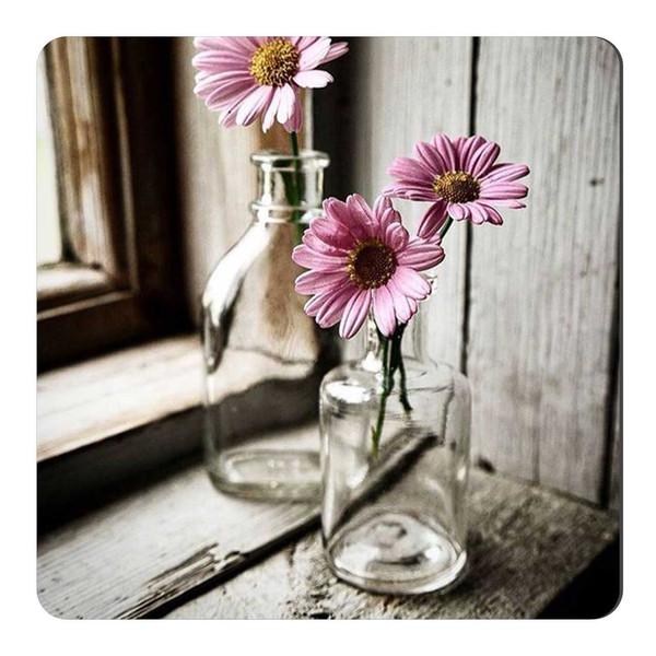 مگنت یخچال طرح گلدان و گل  کد wmg253