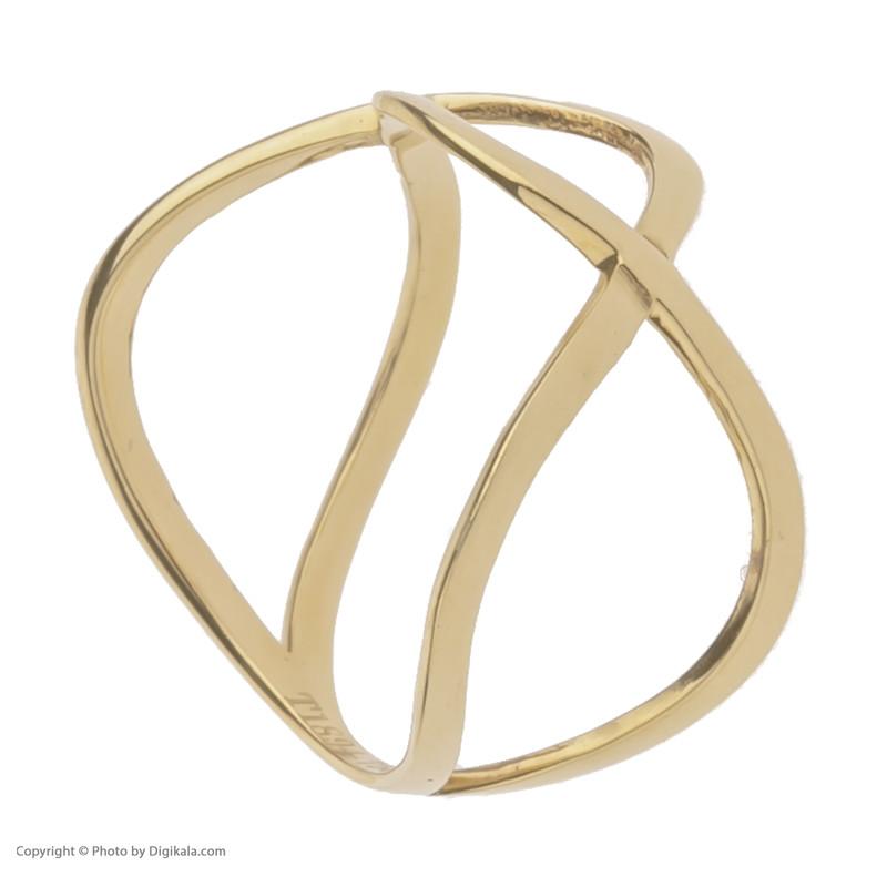 انگشتر طلا 18 عیار زنانه مایا ماهک مدل MR0456