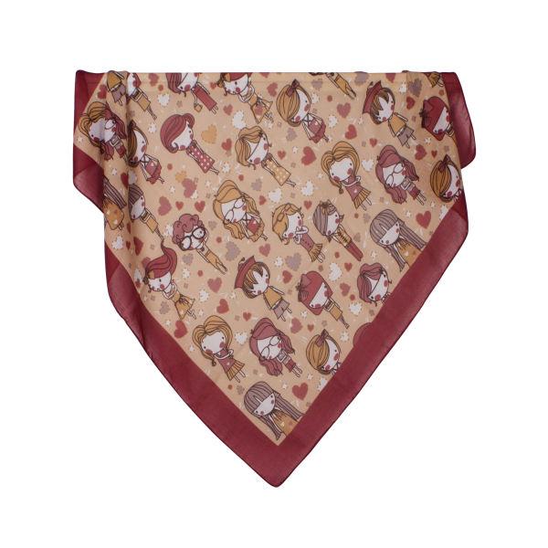 روسری دخترانه نسیما کد T 101