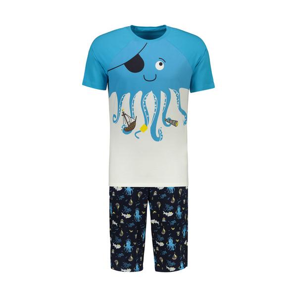 ست تی شرت و شلوارک مردانه مادر مدل villy400-50