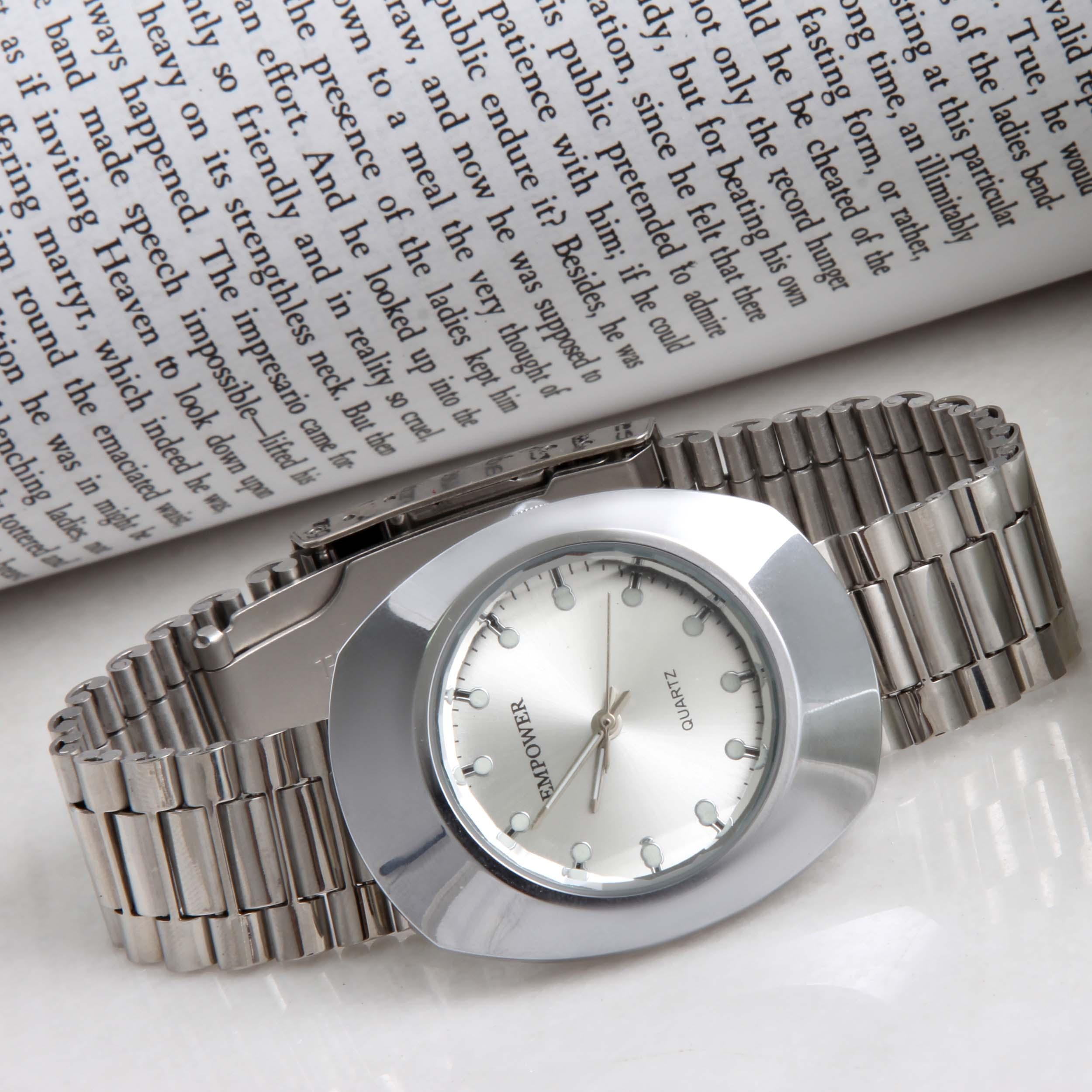 ساعت مچی عقربهایمردانه مدل کوارتز کد WHM_214                     غیر اصل