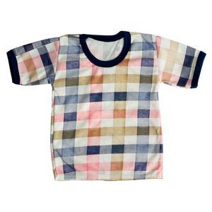 تی شرت آستین کوتاه نوزادی مدل AM 242