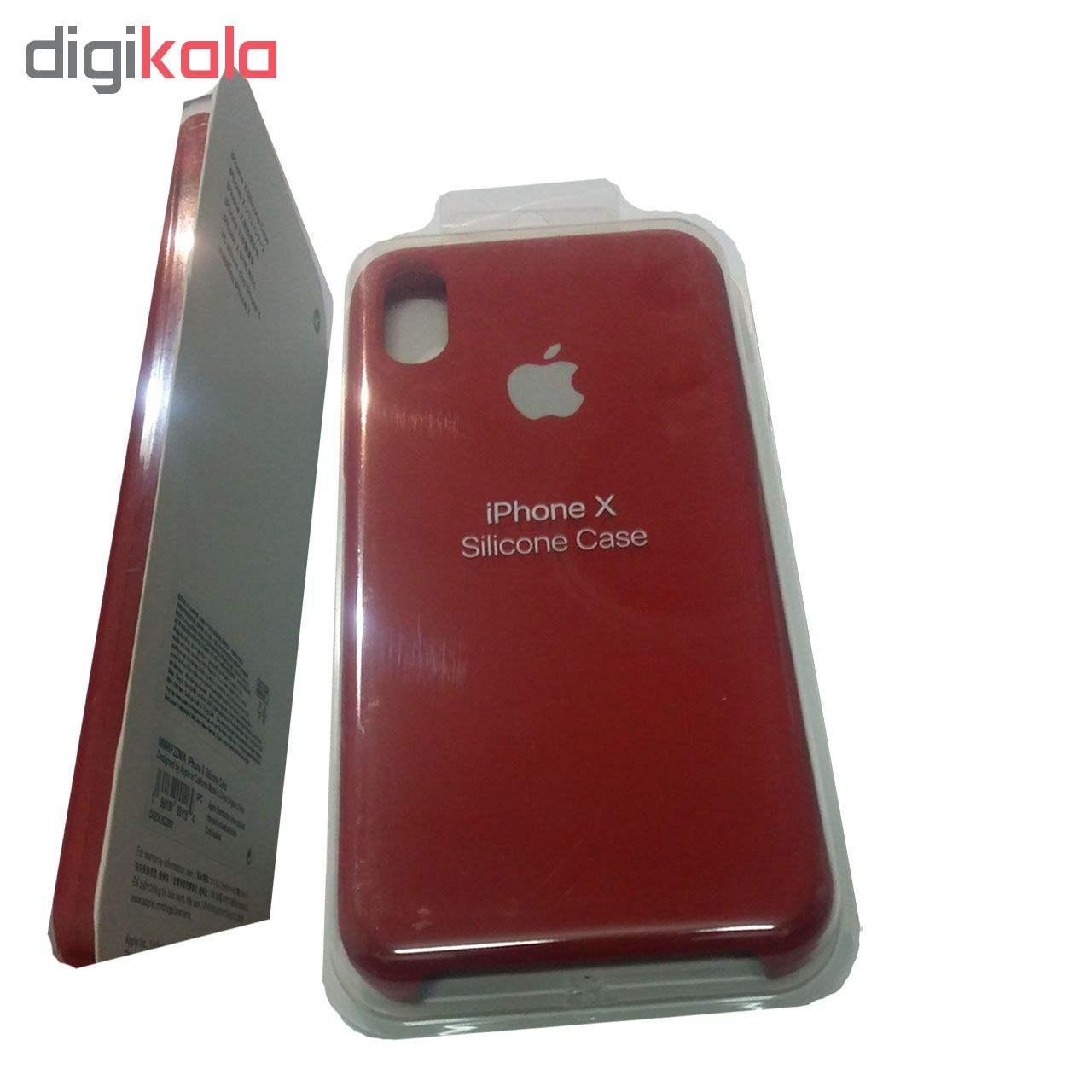 کاور سیلیکونی مدل SIC مناسب برای گوشی موبایل آیفون X /10 main 1 1