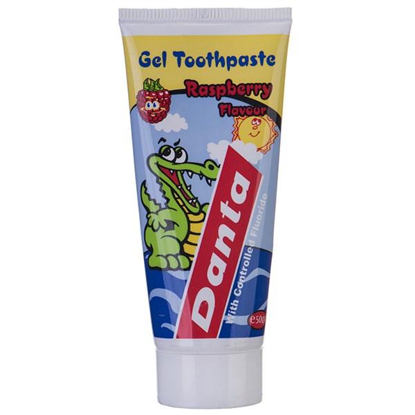 خمیر دندان بچه دانتا با عصاره تمشک حجم 50 میلی لیتر