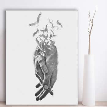 تابلو شاسی گالری استاربوی طرح عاشقانه مدل Amazing 70