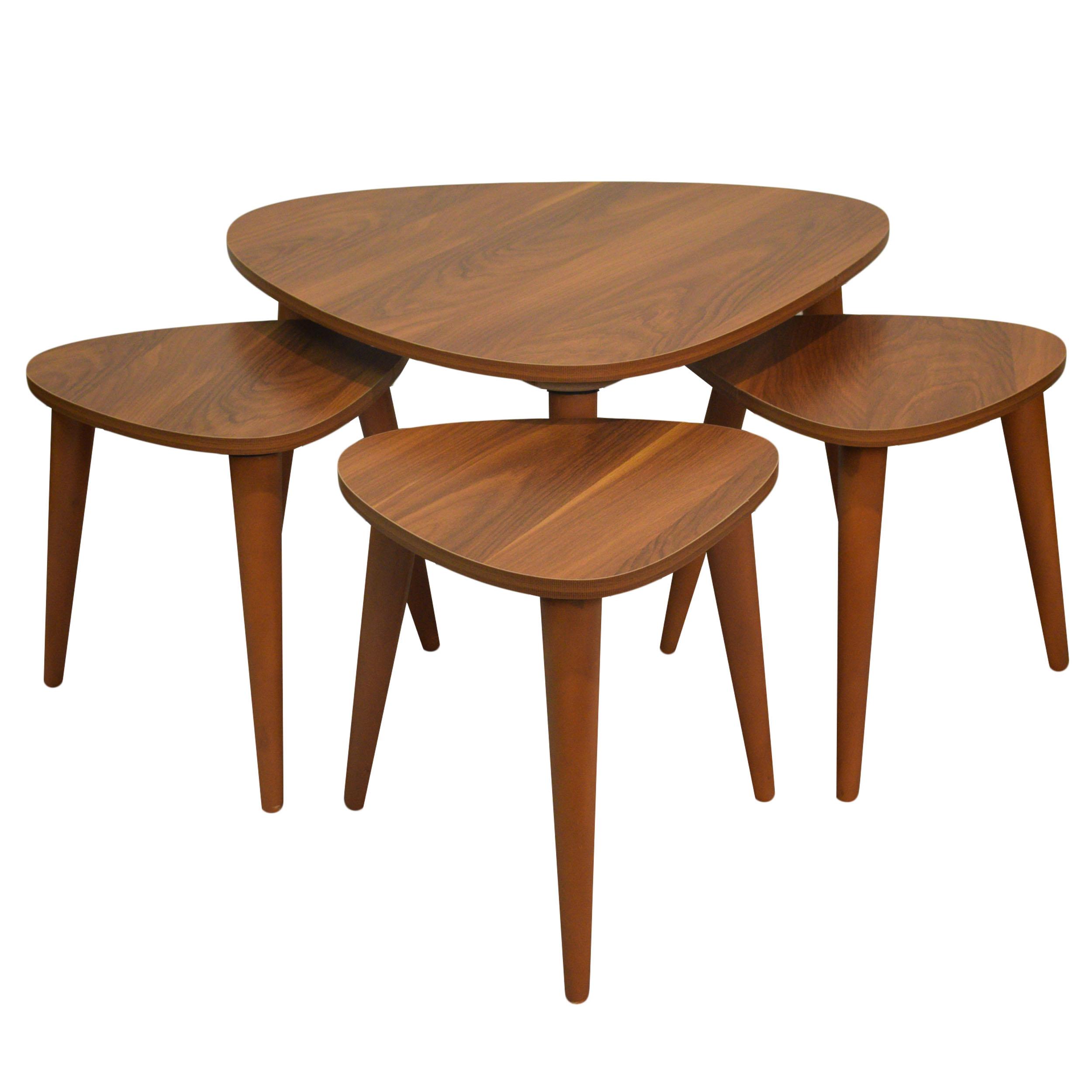 خرید                     میز جلو مبلی ADFA04 مجموعه 4 عددی