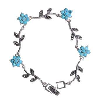 دستبند نقره زنانه کد DZ104