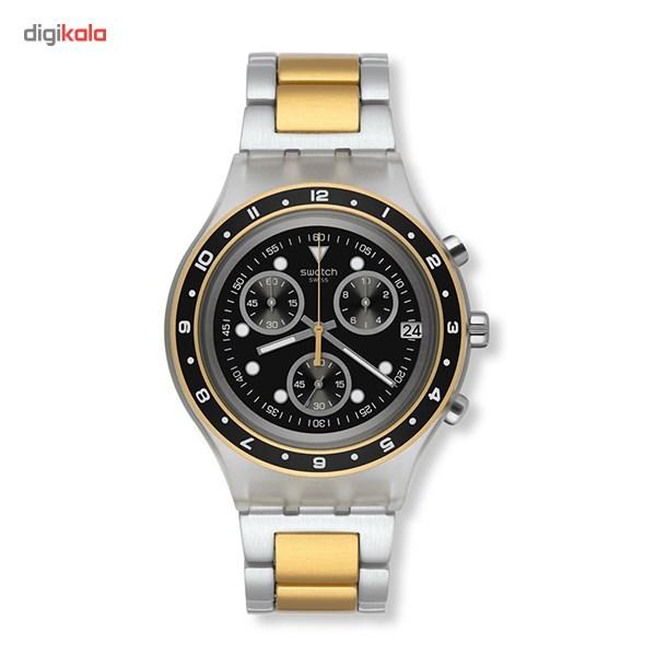خرید ساعت مچی عقربه ای سواچ SVCK4076AG
