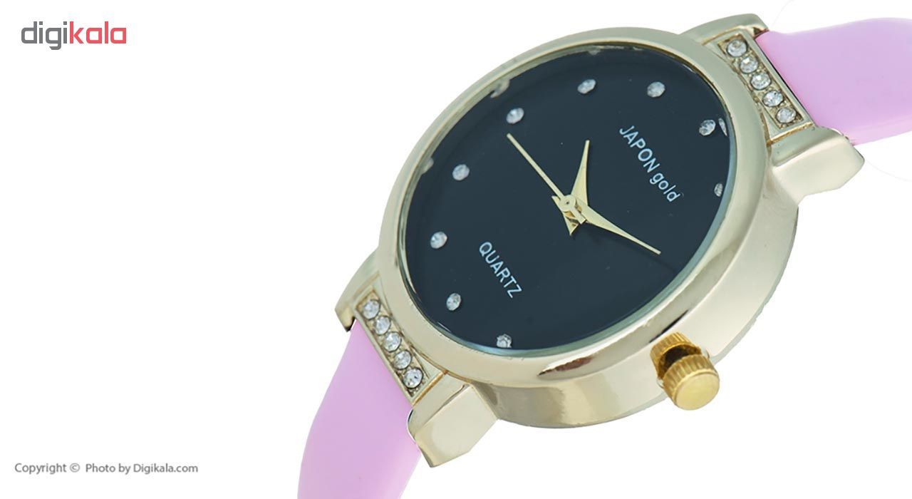 ساعت مچی عقربه ای زنانه ژاپن گلد مدل Fn02              خرید (⭐️⭐️⭐️)