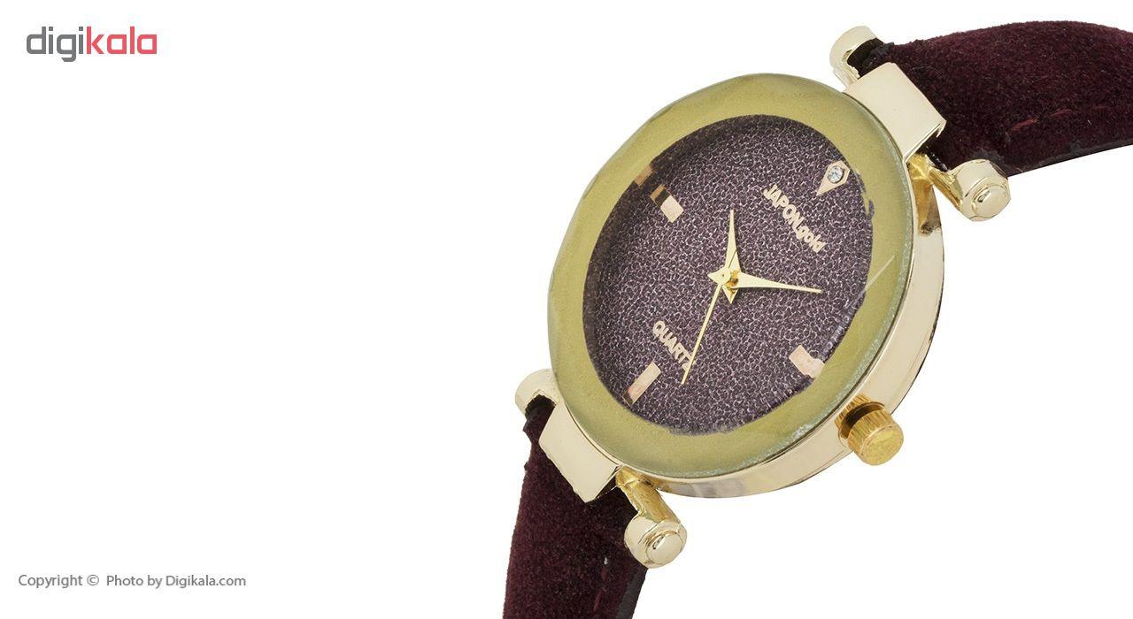 ساعت مچی عقربه ای زنانه ژاپن گلد مدل Gr02              خرید (⭐️⭐️⭐️)