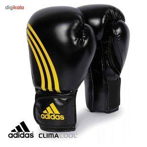 دستکش بوکس آدیداس کدADIBC07 سایز 14 اونس  Adidas Boxing Gloves ADIBC07 14 OZ
