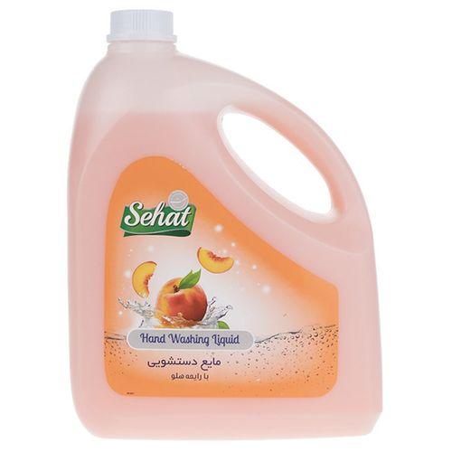 مایع دستشویی صدفی صحت مدل Peach مقدار 4000 گرم