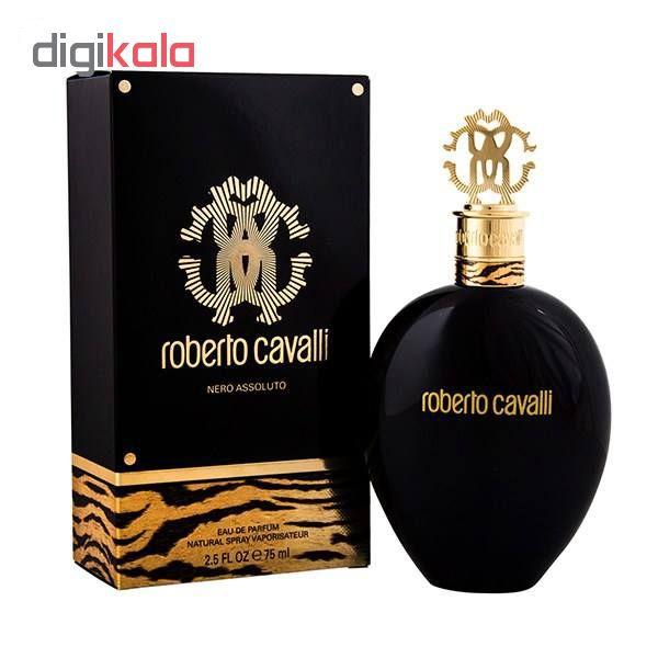 خرید اینترنتی ادو پرفیوم زنانه روبرتو کاوالی مدل Roberto Cavalli Nero Assoluto اورجینال